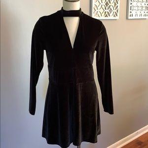 Black Polyester romper size large